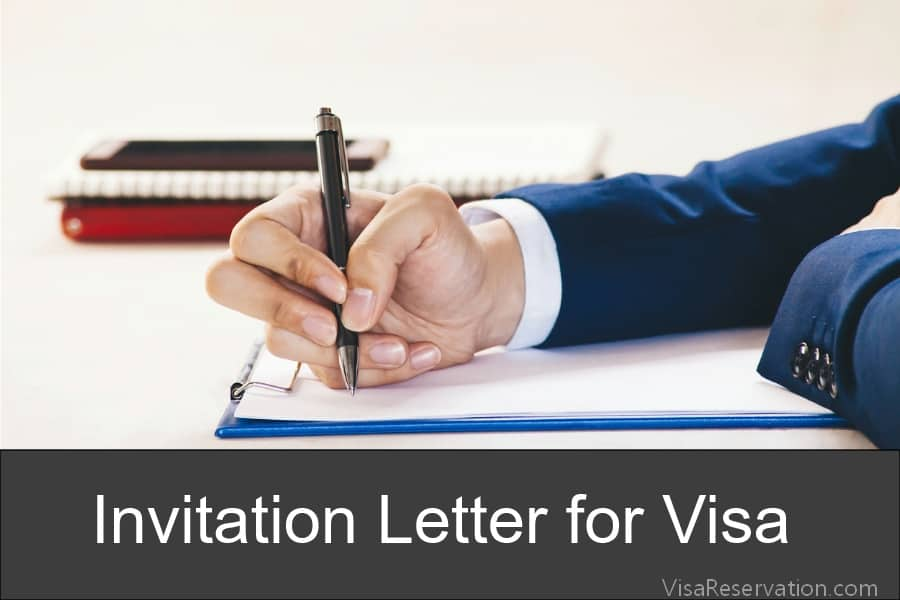 Invitation Letter for Schengen Visa - Letter of Invitation for Visa