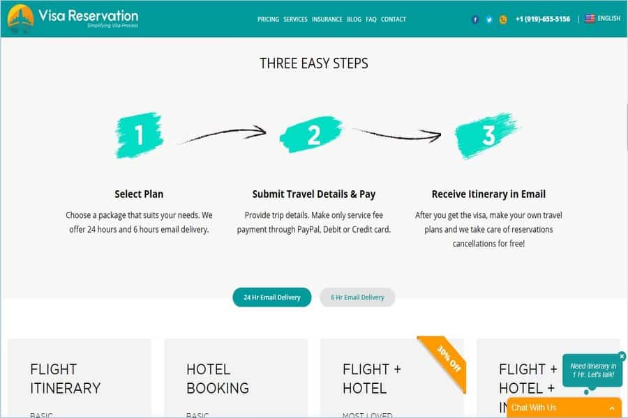 3 Steps to make flight reservation without payment