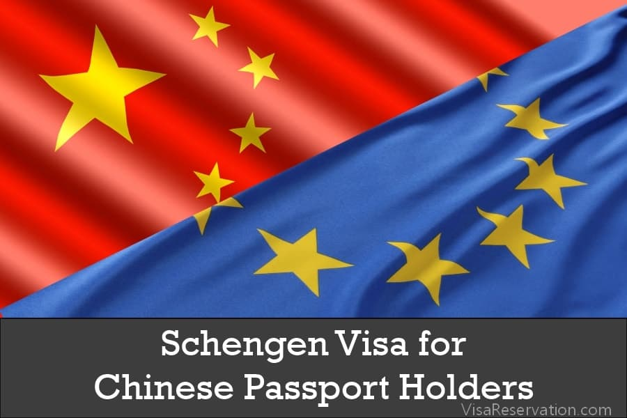Schengen Visa For Chinese Passport Holders Visa Reservation