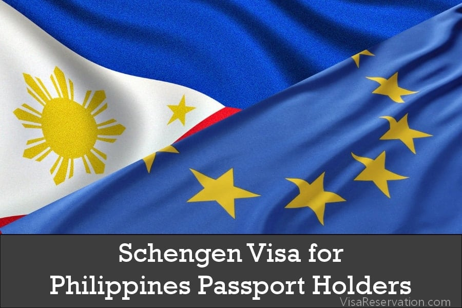 Schengen Visa for Philippines Passport Holders - Visa