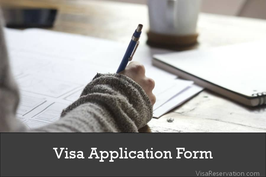 How To Download And Fill Schengen Visa Application Form Step By Step Visa Reservation