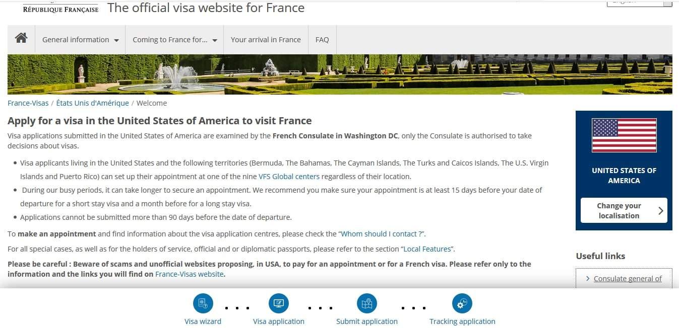 France Schengen Visa Los Angeles Online Application3