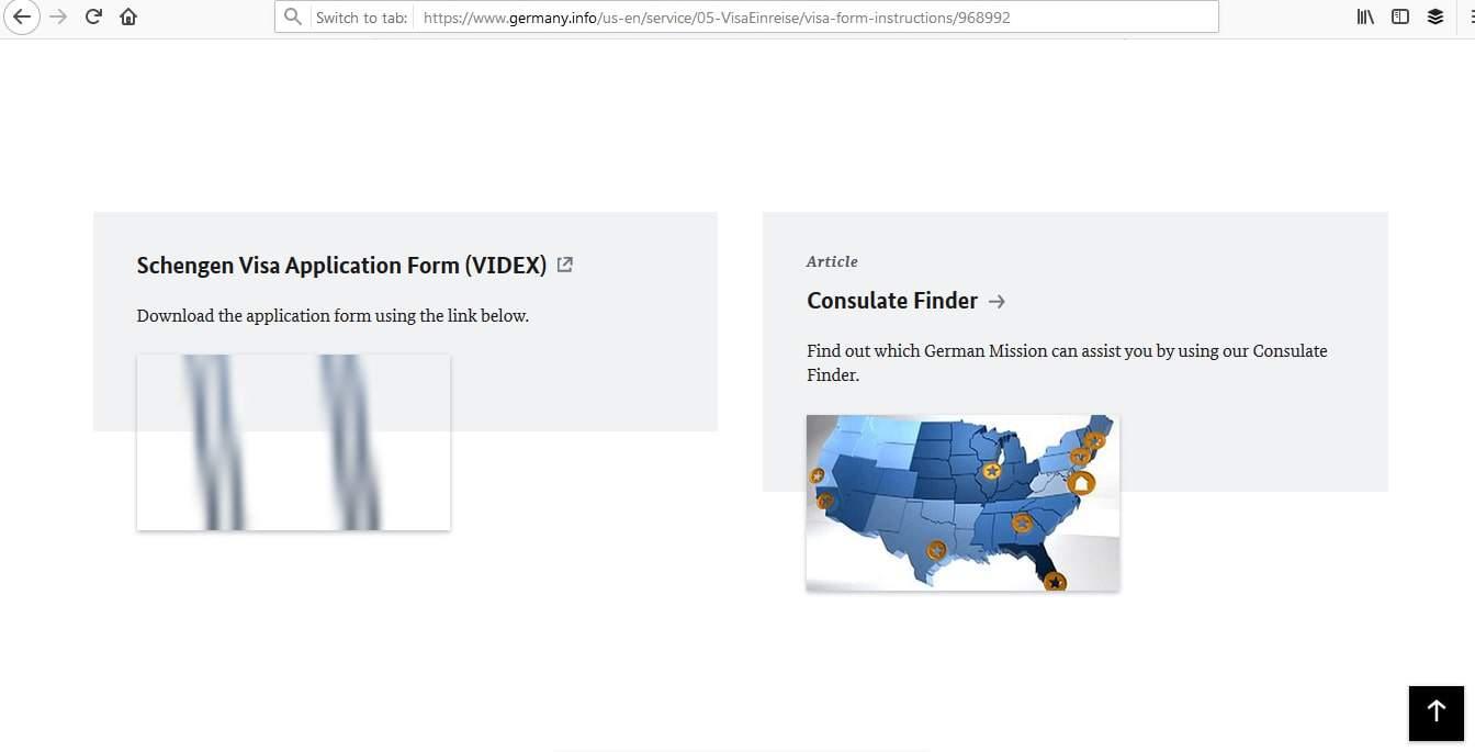 Germany Schengen Visa Atlanta Consulate Online Visa Application1