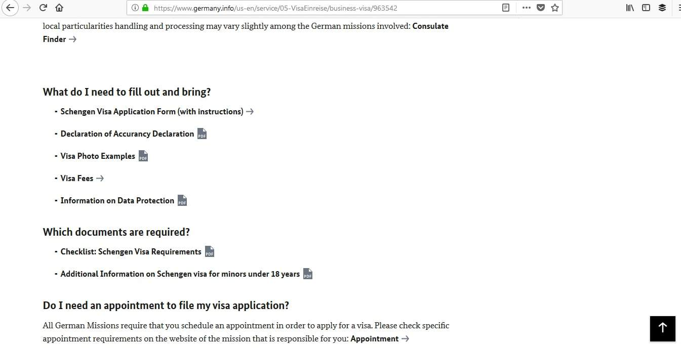 Germany Schengen Visa Boston Consulate Application1