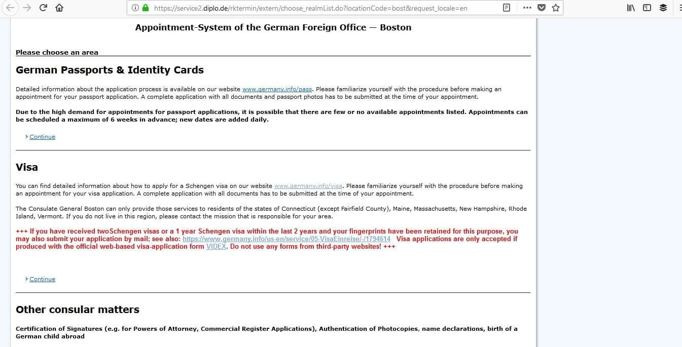 Germany Schengen Visa Boston Consulate Appointment3