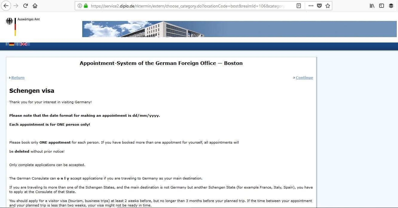 Germany Schengen Visa Boston Consulate Appointment5