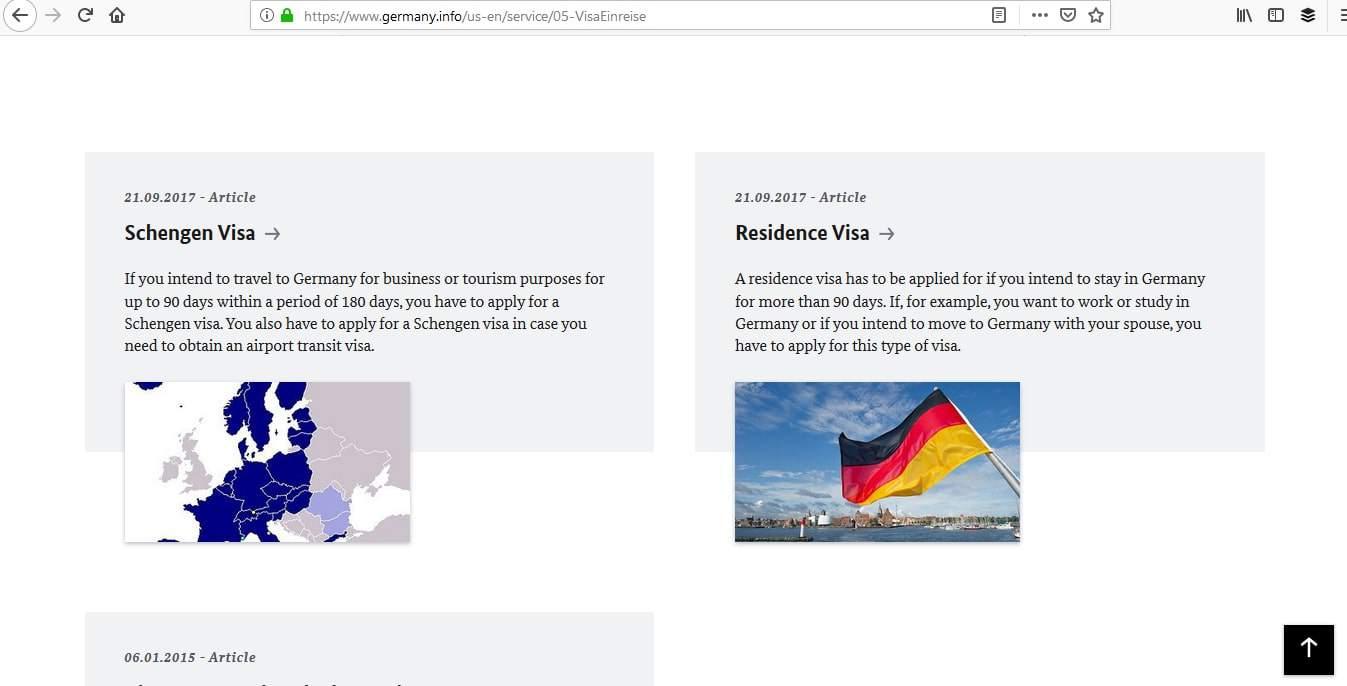 Germany Schengen Visa Los Angeles Consulate Application