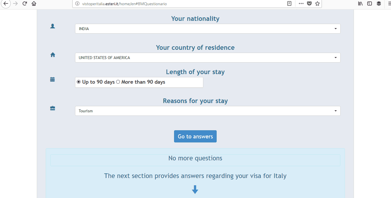 Italy Schengen Visa Boston Consulate Application Process1