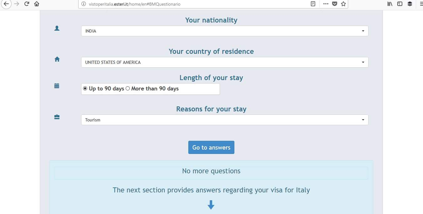 Italy Schengen Visa Miami Consulate Application Process1