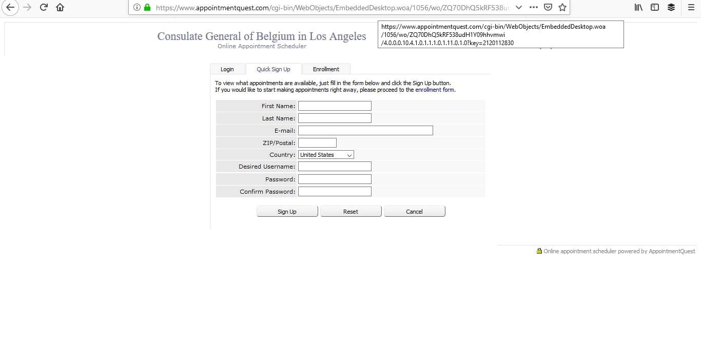 Belgium Schengen Visa Los Angeles Consulate Appointment4