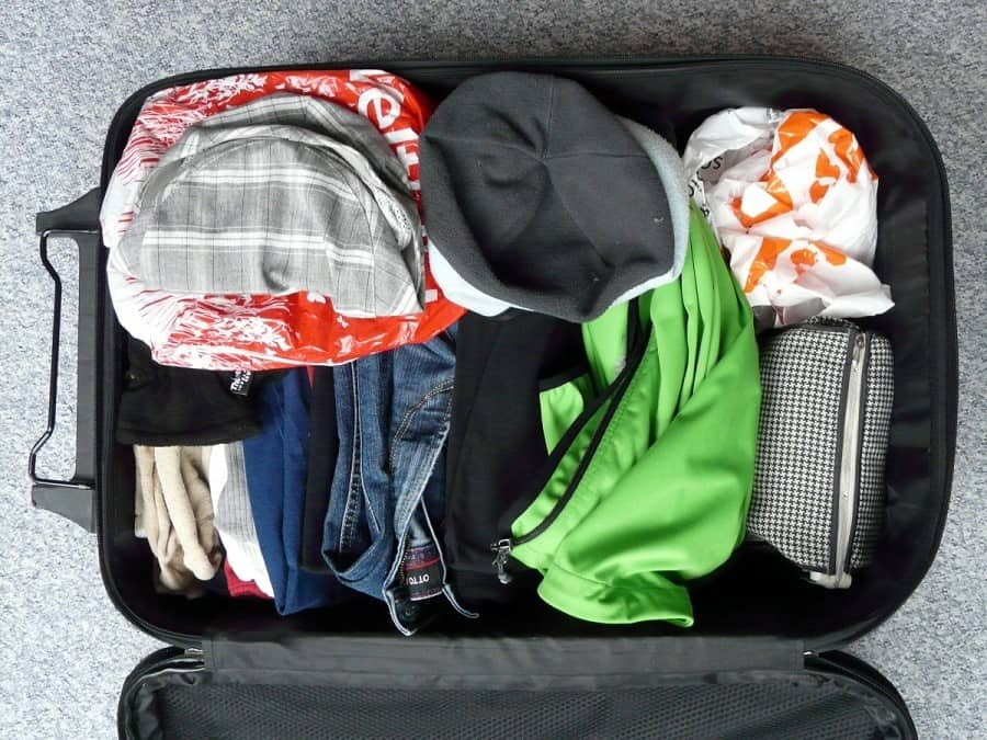 Europe Travel Packing Checklist - Bag Items