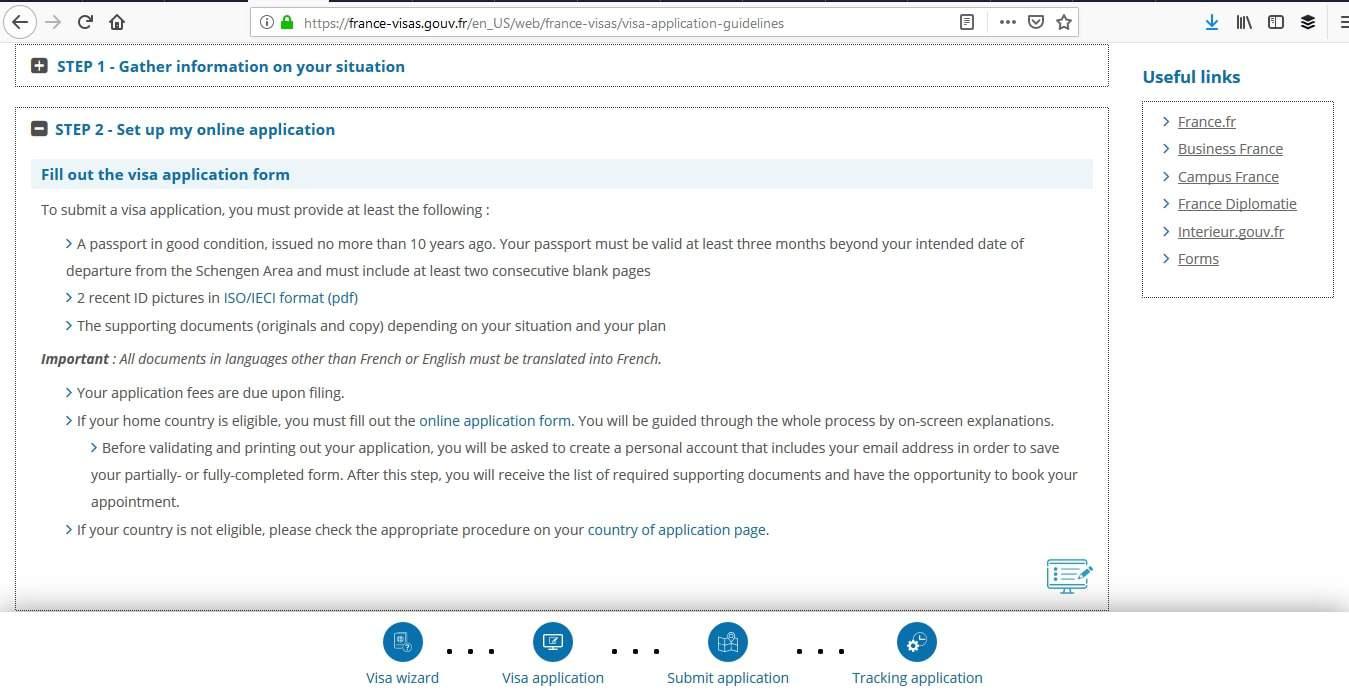 France Schengen Visa Miami Consulate Online Application