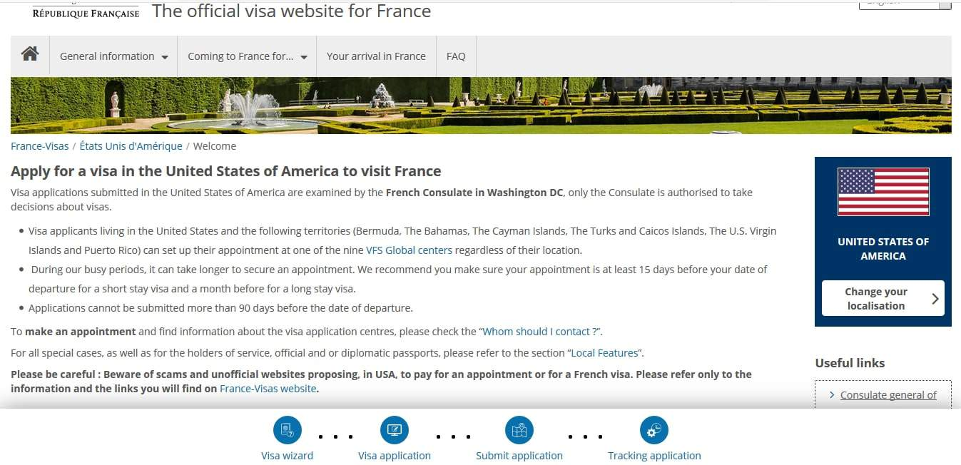 France Schengen Visa Washington DC Consulate Visa Appointment1