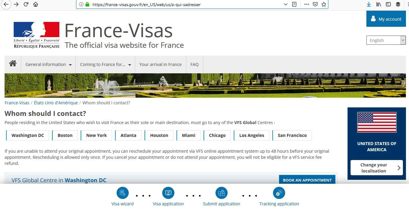 France Schengen Visa Washington DC Consulate Visa Appointment2
