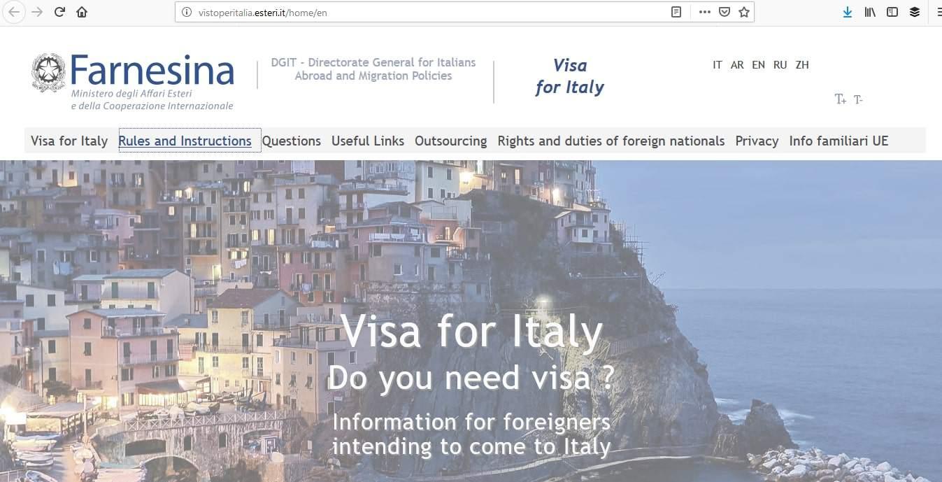 Italy Schengen Visa Detroit Consulate Application Process1