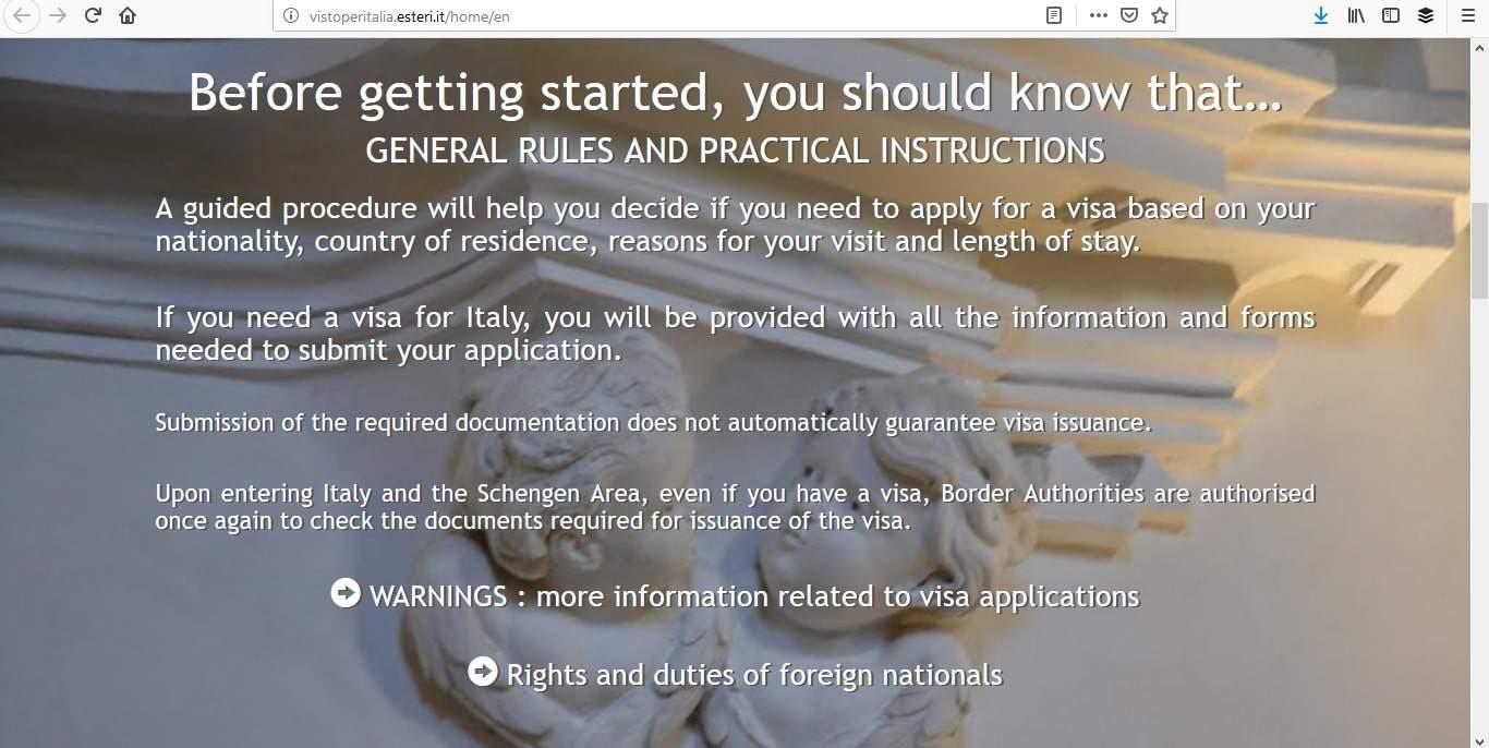 Italy Schengen Visa Detroit Consulate Application Process2