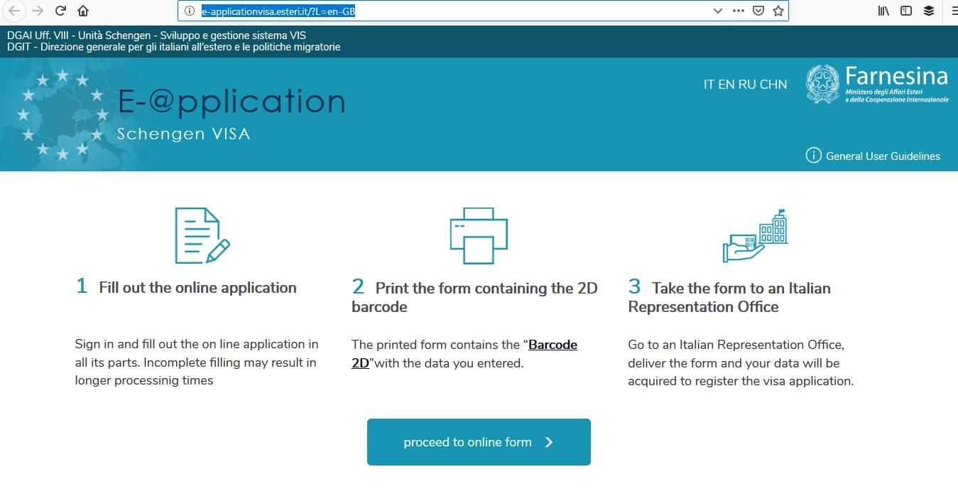 Italy Schengen Visa Washington DC Consulate Application Process4