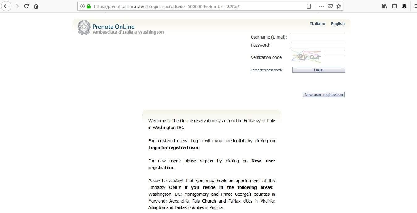 Italy Schengen Visa Washington DC Consulate Appointment3