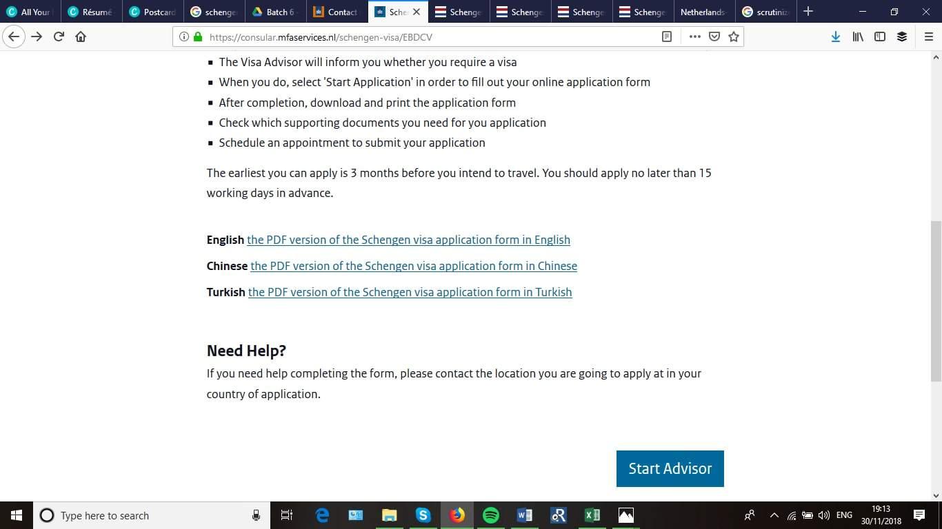 Netherlands Schengen Visa Application Process2