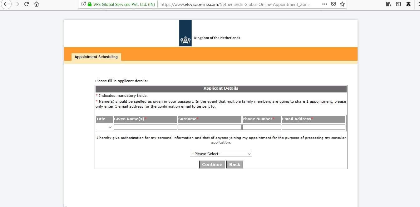 Netherlands Schengen Visa Appointment11