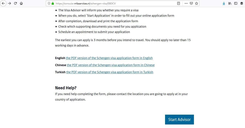 Netherlands Schengen Visa San Francisco Consulate Application Process2