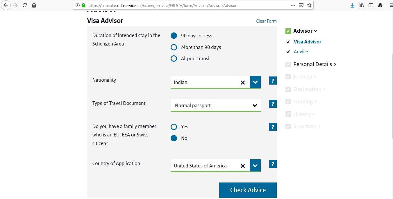 Netherlands Schengen Visa San Francisco Consulate Application Process3
