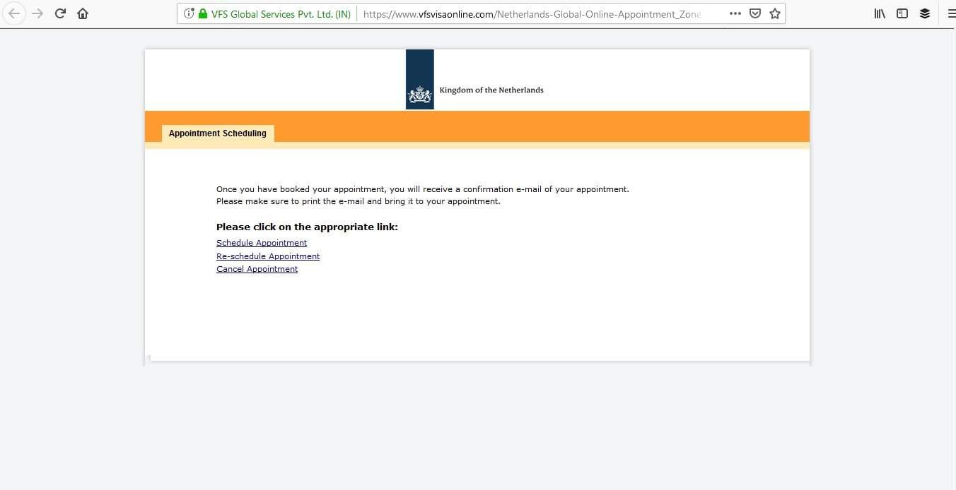 Netherlands Schengen Visa San Francisco Consulate Appointment8
