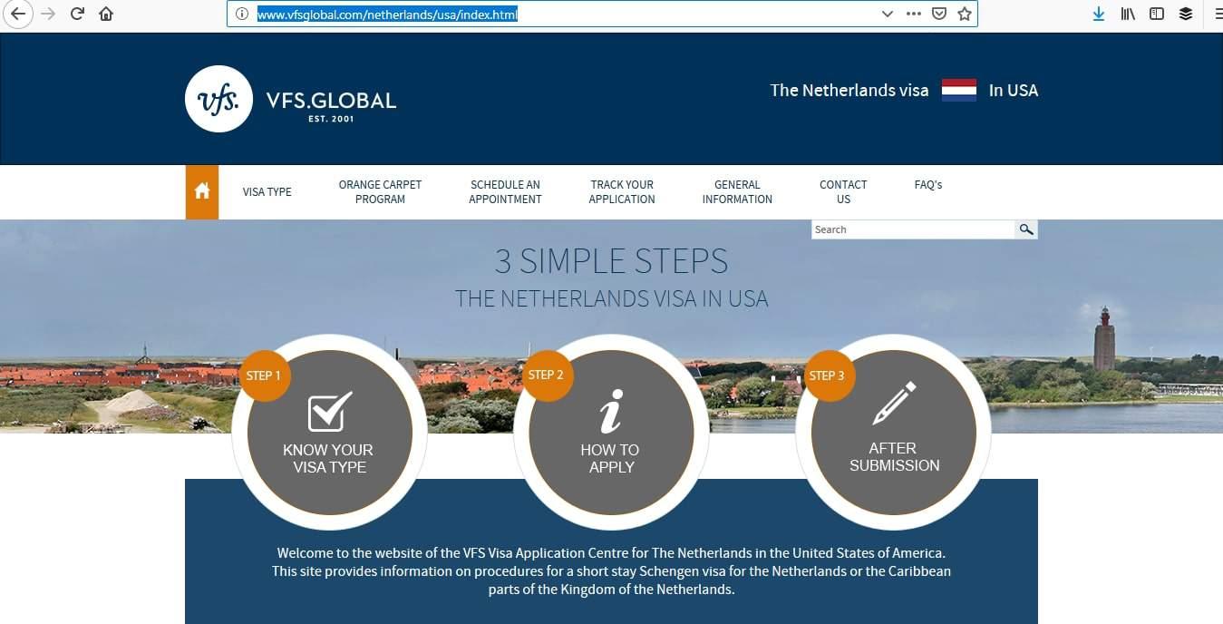 Netherlands Schengen Visa Tracker