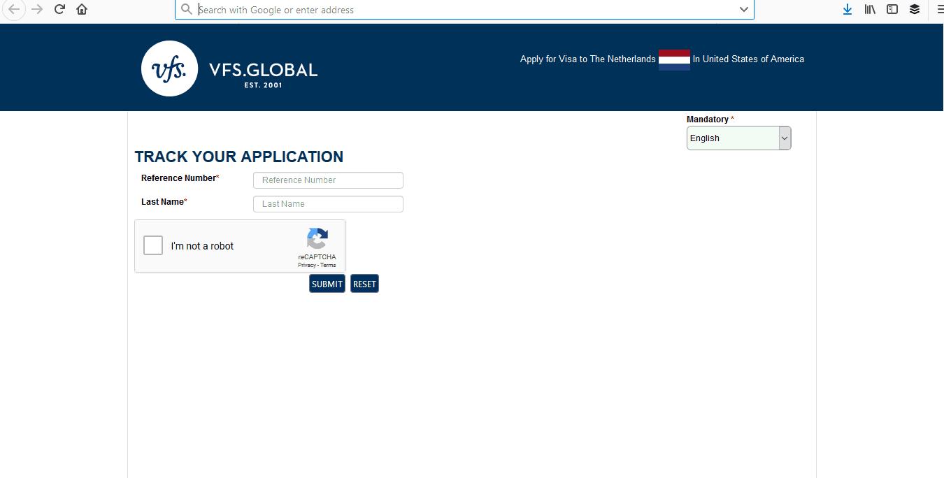 Netherlands Schengen Visa Tracker2