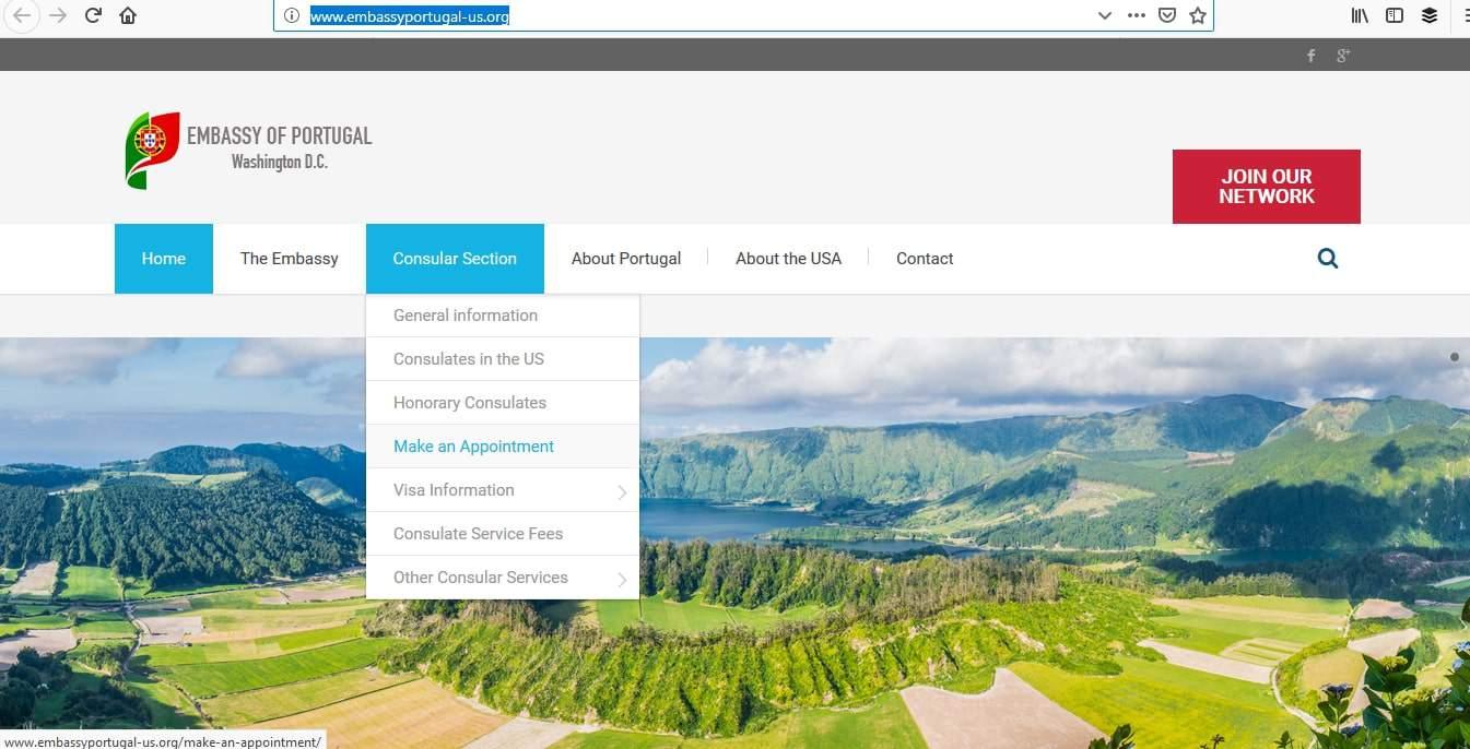 Portugal Schengen Visa Washington DC Embassy Appointment3