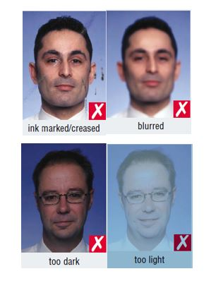 Schengen Visa Photo Requirements France - Quality - Wrong