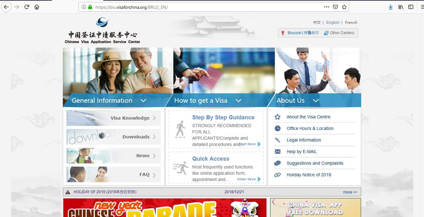 China Visa Application Process Visa Tracker