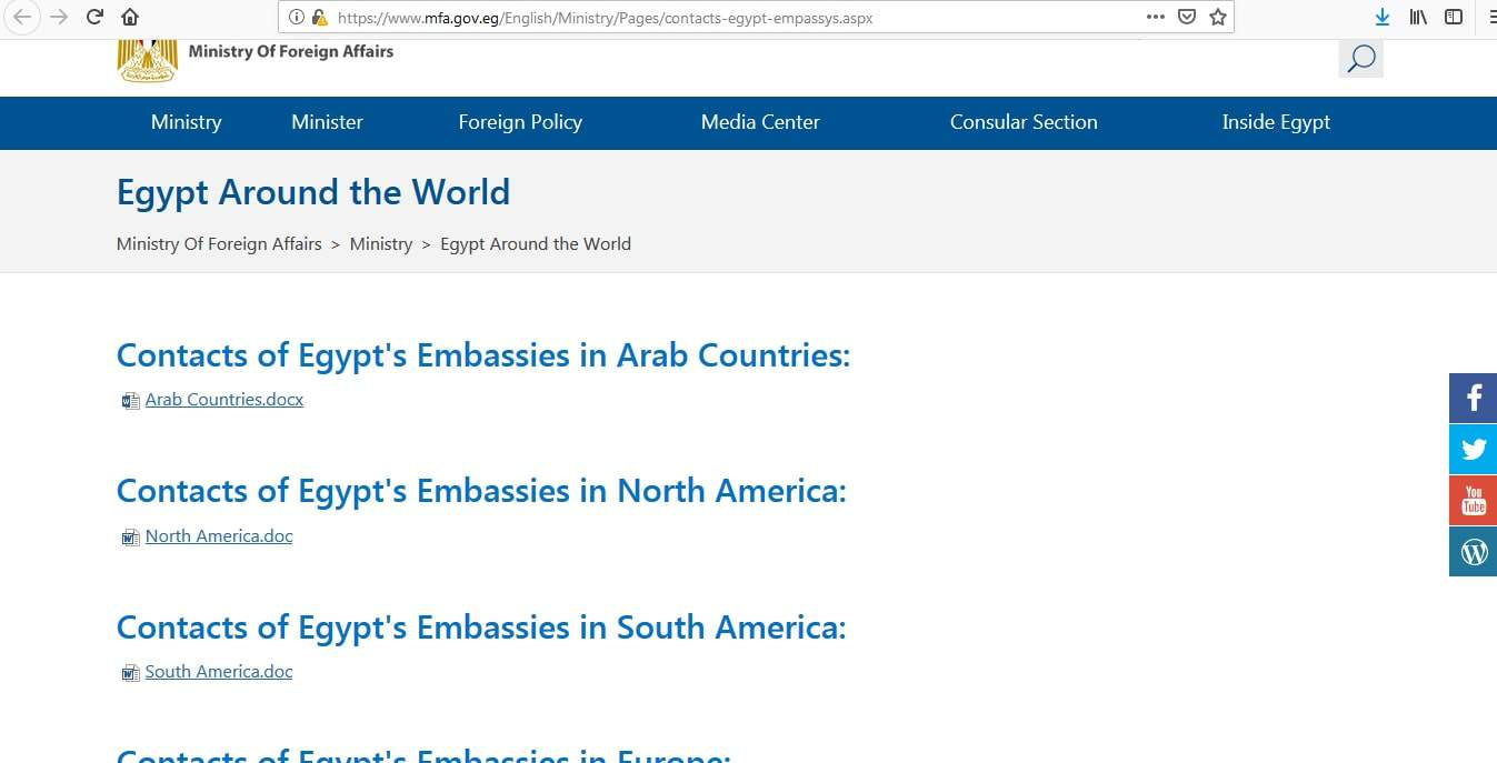Egypt Visa Missions Worldwide