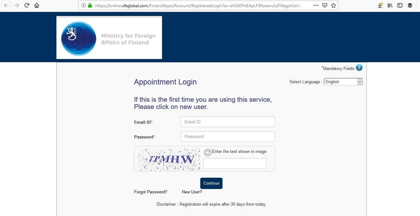 Finland Schengen Visa NYC New York Consulate Appointment2