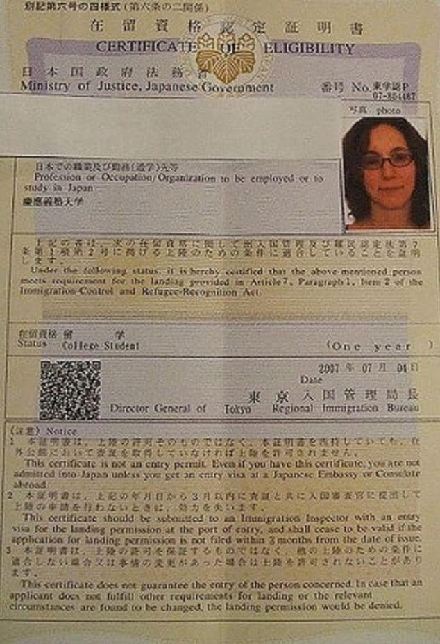 Japan Visa Application Process