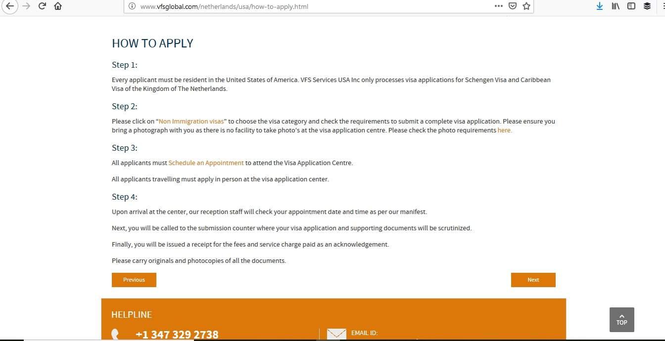 Netherlands Schengen Visa Miami Consulate Appointment1