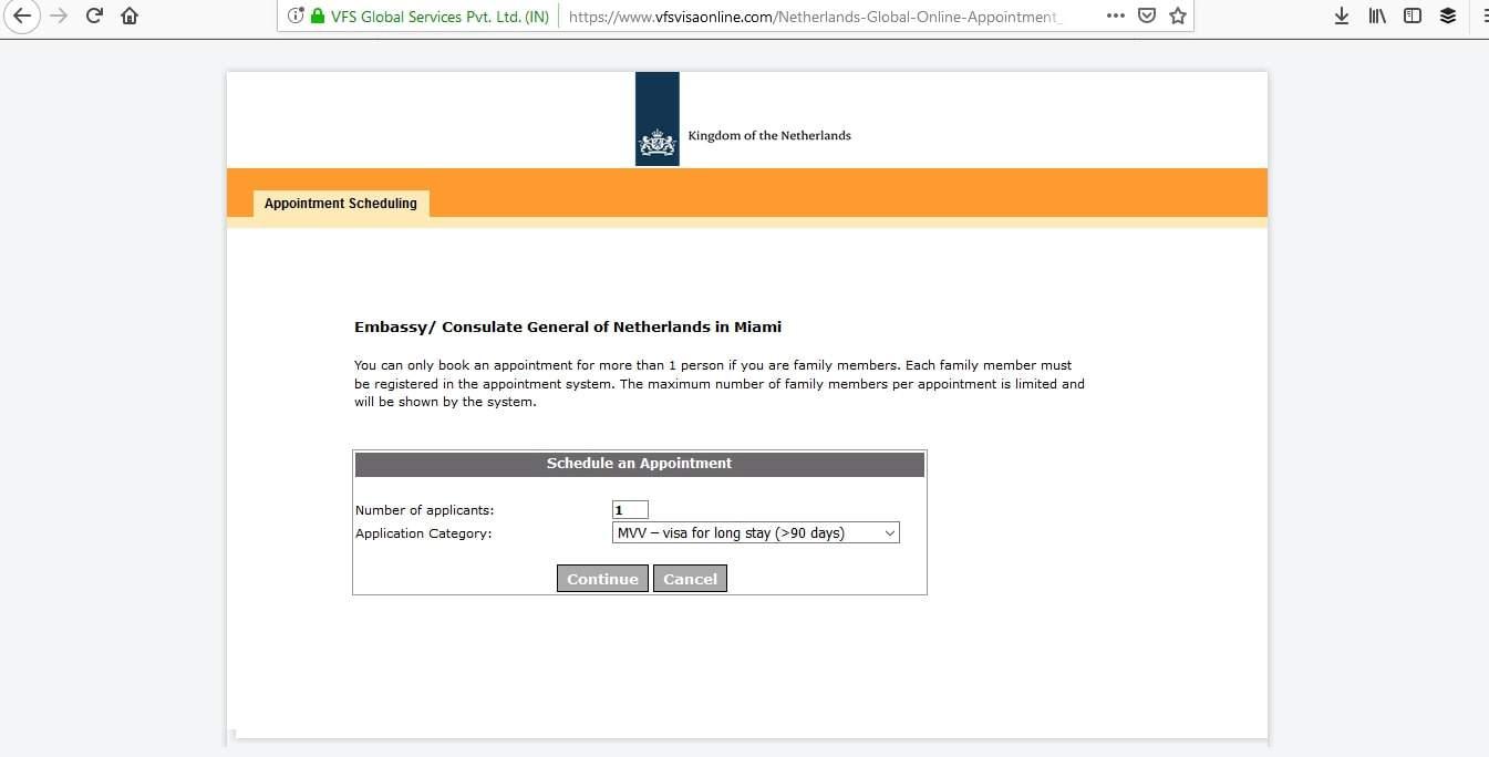 Netherlands Schengen Visa Miami Consulate Appointment10