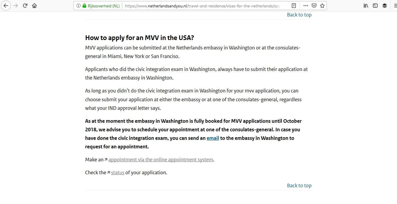 Netherlands Schengen Visa Miami Consulate Appointment7