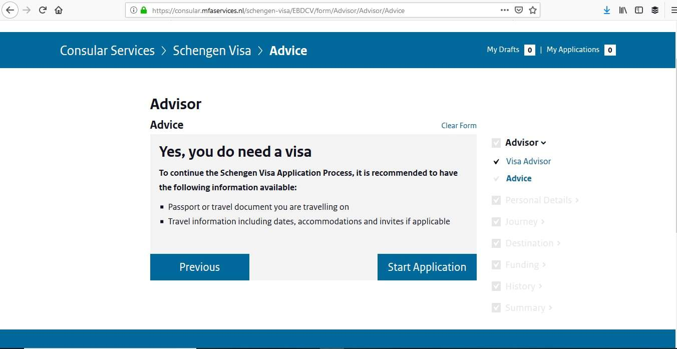 Netherlands Schengen Visa Miami Consulate Online Application4