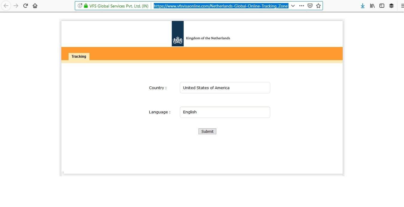 Netherlands Schengen Visa Miami Consulate Visa Tracker4