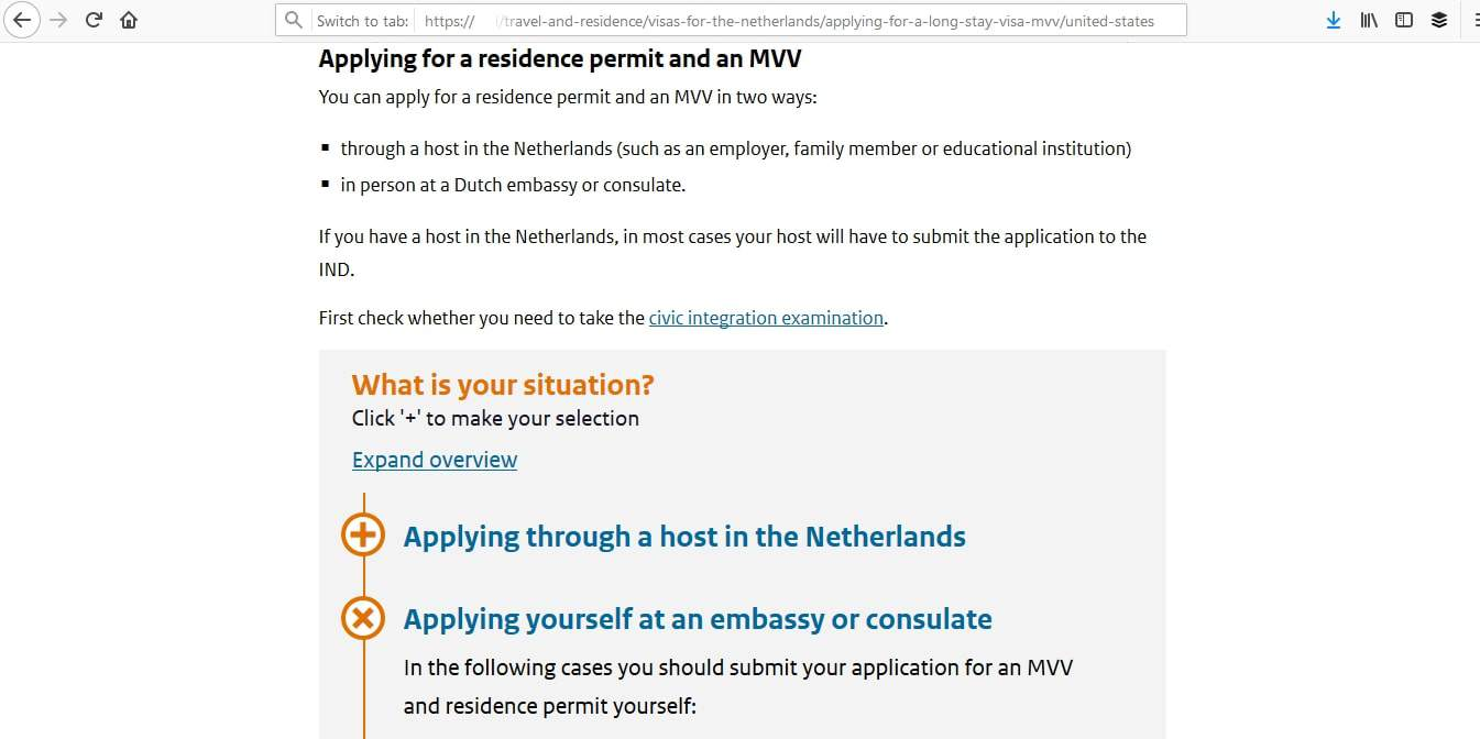 Netherlands Schengen Visa Washington DC Embassy Application Process8