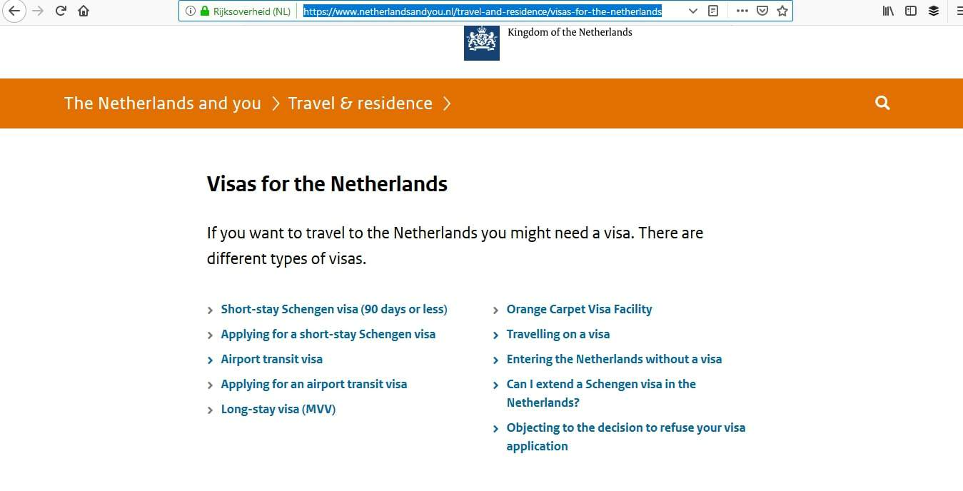 Netherlands Schengen Visa Washington DC Embassy Appointment4