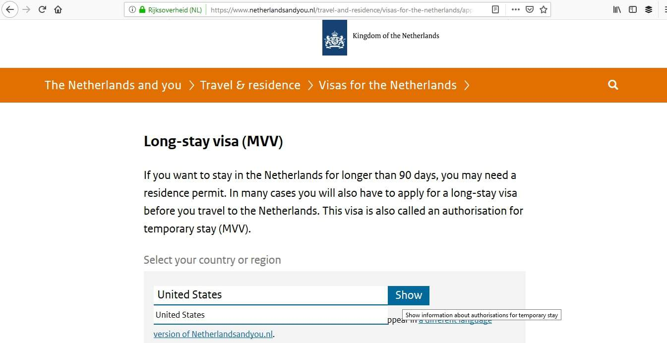 Netherlands Schengen Visa Washington DC Embassy Appointment5