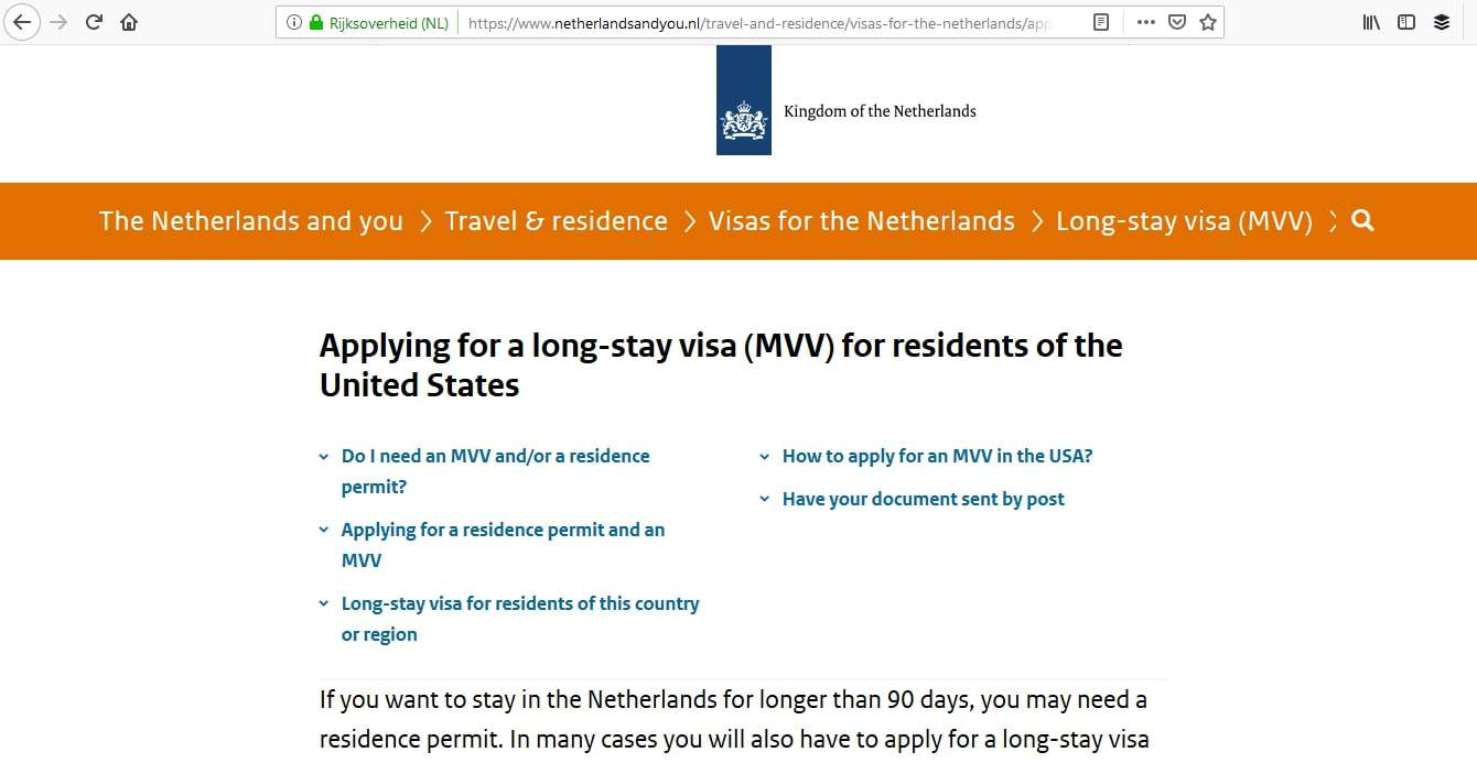 Netherlands Schengen Visa Washington DC Embassy Appointment6