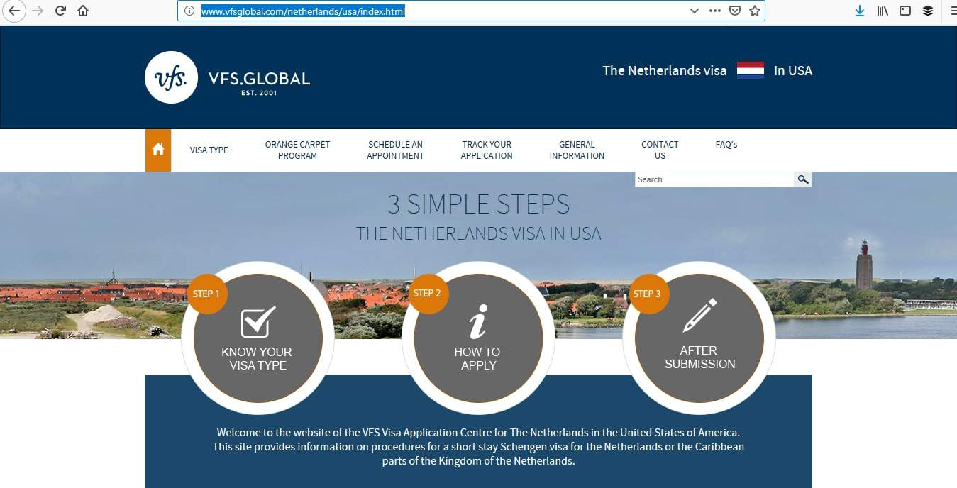 Netherlands Schengen Visa Washington DC Embassy Visa Tracker
