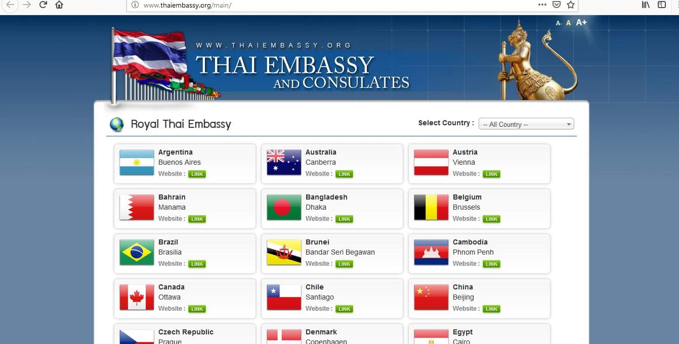 Where To Apply For Thailand Visa