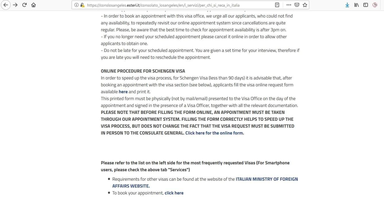 Estonia Schengen Visa Los Angeles Consulate Application Form