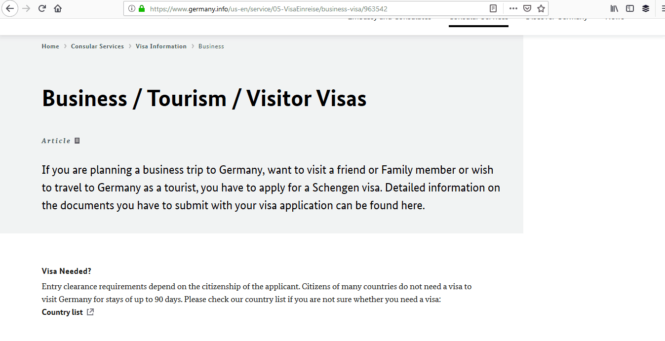 Germany Schengen Visa Miami Consulate Application Form3
