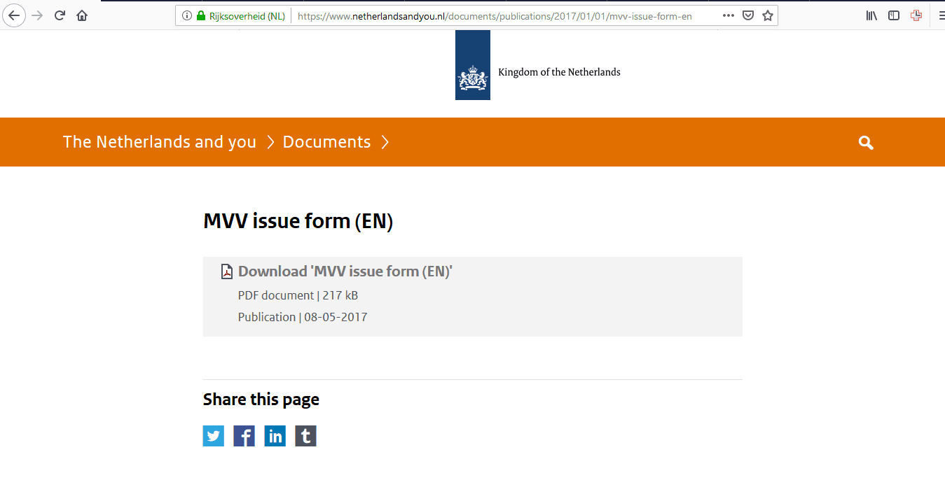Netherlands Schengen Visa Houston Consulate Application Form9