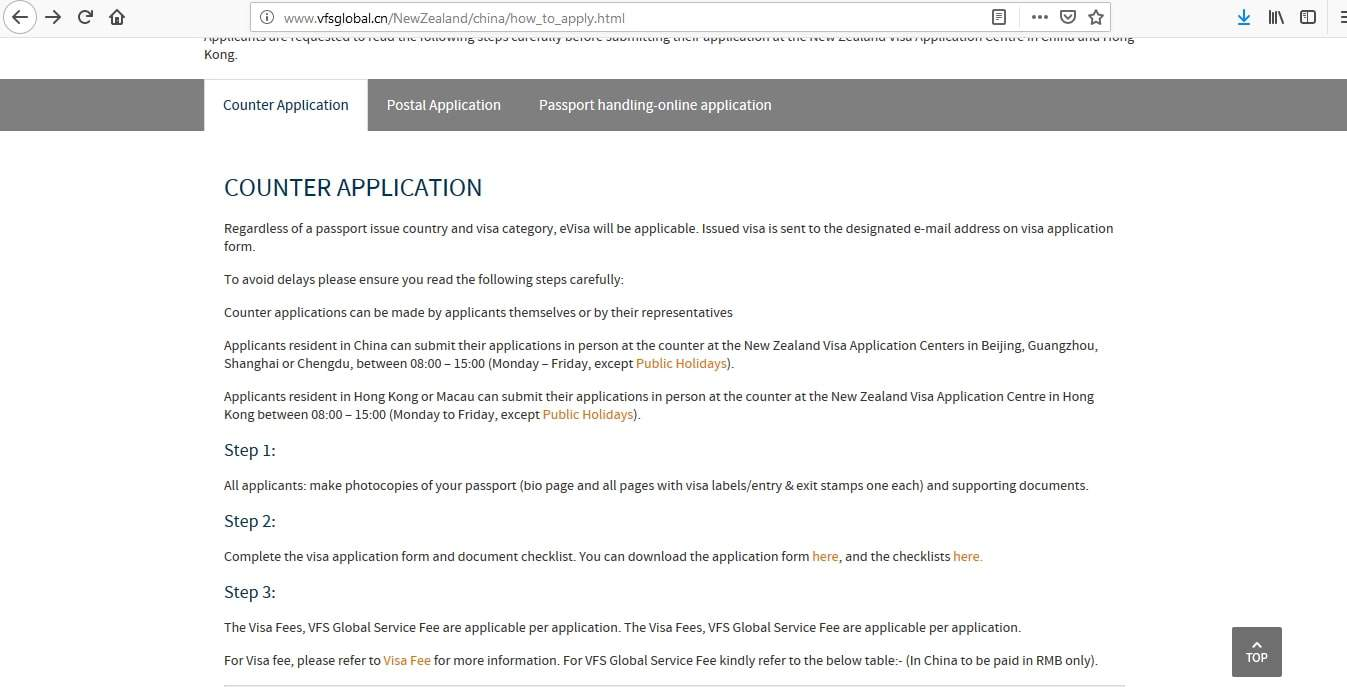 New Zealand Visa Application Process16